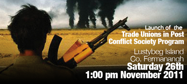 Trade unions in post conflict societies